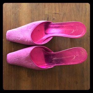 f27f41efc3 Giuseppe Zanotti Shoes - Giuseppe Zanotti kitten heels mules vintage